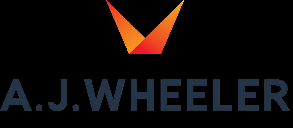 AJWHEELER logo Black